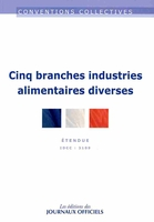 industries alimentaires diverses ; IDCC 3109