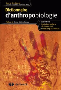 Dictionnaire d'anthropobiologie