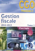 Gestion fiscale 2012-2013 - tome 1