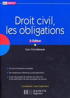 Droit civil, les obligations