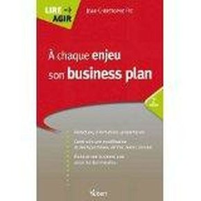A chaque enjeu son business plan