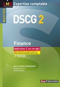 Finance - DSCG 2 - Applications et cas corrigés