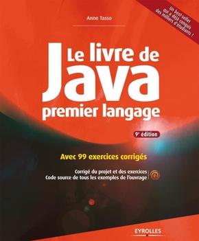 A.Tasso- Le livre de java premier langage. avec 99 exercices corriges
