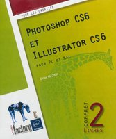 Coffret - Photoshop CS6 et Illustrator CS6