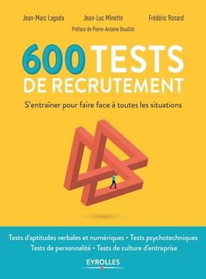 J.-M.Lagoda, J.-L.Minette, F.Rosard- 600 tests de recrutement