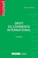 Droit du commerce international (3e édition)