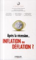 Le cercle Turgot, P.Sabatier, J.-L.Chambon - Après la récession...  déflation ou inflation ?