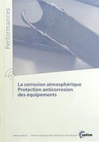 La corrosion atmospherique protection anticorrosion des equipements performances 9q114