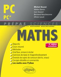 Maths - PC, PC*