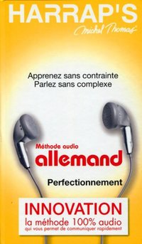 Méthode audio allemand, perfectionnement
