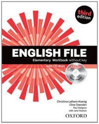English File Elementary Workbook and iChecker Pack