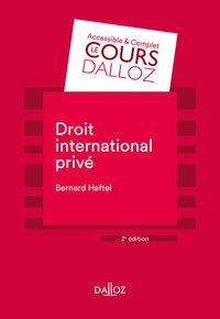 Droit international privé - 2e ed.