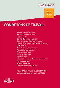 Conditions de travail 2020/21 - 1re ed.