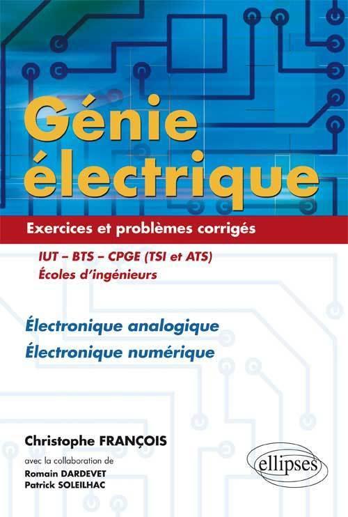 Genie Electrique Electronique Analogique Electronique Librairie Eyrolles