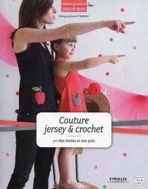 M.François- Couture jersey et crochet