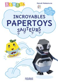 Kawaii ! incroyables papertoys sauteurs