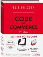 Code de commerce - 2014