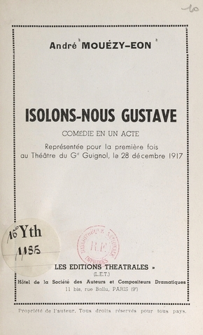 Isolons-nous gustave