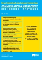 Developpement changement personnel-orga.manag&communication-cm 1-2019 - communication & management v
