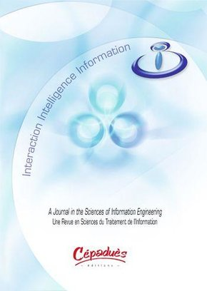Revue I3 - Information-interaction-intelligence - Volume 9, n°2, 2009