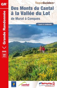 Monts du cantal a vallee du lot - 15 - gr - 465