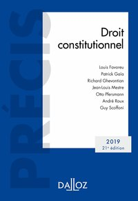 Droit constitutionnel - 2019