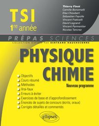 Physique Chimie TSI - 1re année