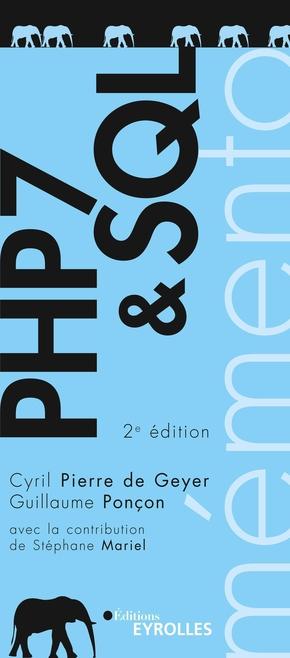 C.Pierre de Geyer, G.Ponçon- PHP 7 et SQL