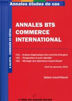 Annales études de cas - BTS Commerce International