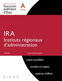 IRA instituts regionaux d'administration