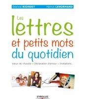 E.Riondet, P.Lenormand - Les lettres et petits mots du quotidien