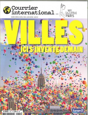 Courrier international hs n 14 villes, ici s invente demain (my little paris) - avril 2018