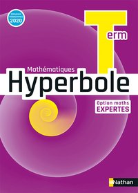 Hyperbole term - option maths expertes - manuel 2020
