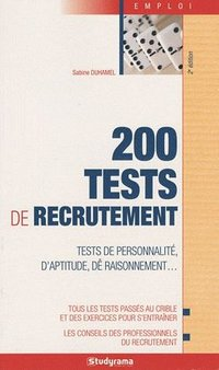 200 tests de recrutement
