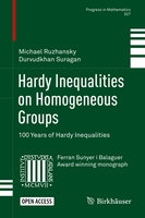 Hardy inequalities on homogeneous groups: 100 years of hardy inequalities