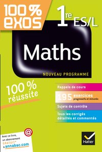 100% exos maths 1re ES/L