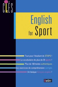 English for sport