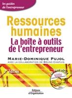 Marie-Dominique Pujol - Ressources humaines la boite a outils del entrepreneur + cd rom