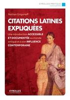 Grigorieff Nathan - Citations latines expliquées