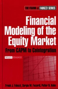 Financial Modeling of the Equity Market