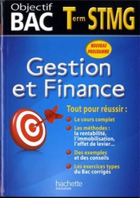 Gestion et finance - Terminale STMG