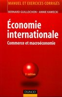 Economie internationale : commerce et macroéconomie