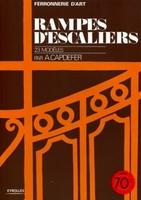 André Capdefer - Rampes d'escaliers, 23 modèles