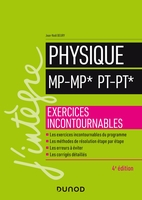 Physique MP, MP*, PT, PT*