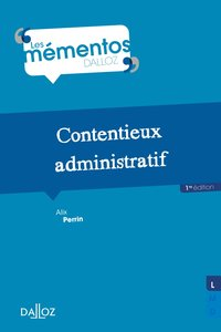Contentieux administratif - 1re ed.