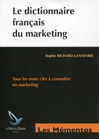 Le dictionnaire français du marketing