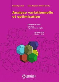 Analyse variationnelle et optimisation