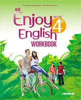 NEW ENJOY ENGLISH ; anglais ; 4ème ; A2/B1 ; workbook (édition 2014)