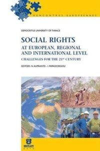Social rights at european, regional and international level