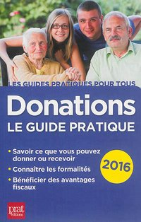 Donations - Le guide pratique - 2016